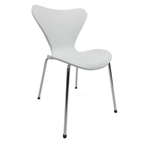 silla serie 7 estilo nordico de andré jacobsen